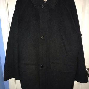Authentic men's Burberry wool coat